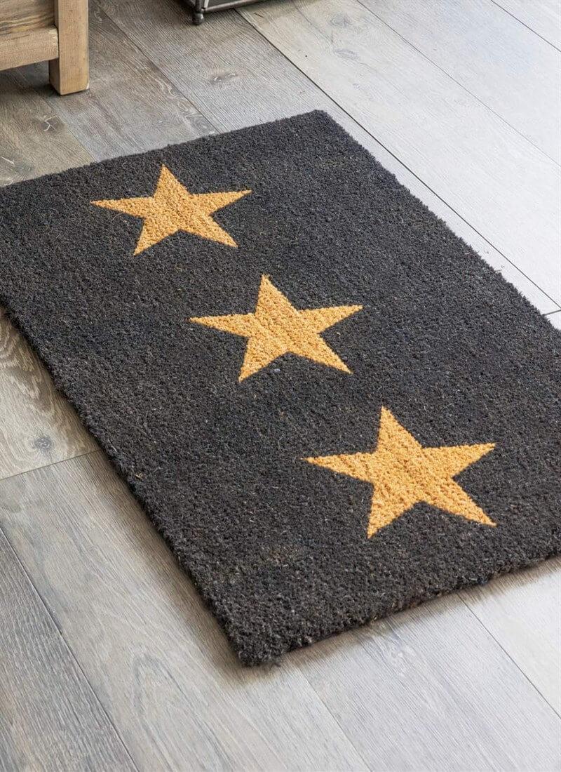 Garden trading 3 stars large doormat